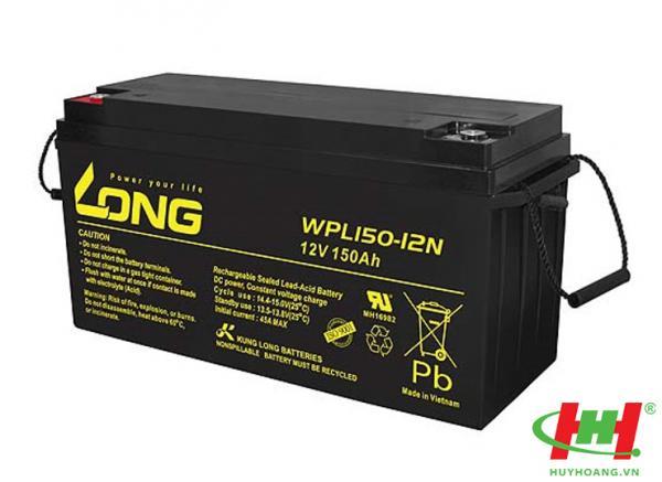 Bình ắc quy Long 12V-150Ah (WPL150-12N)