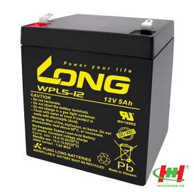 Bình ắc quy Long 12V-5Ah (WPL5-12; WP5-12SHR; WP5-12)
