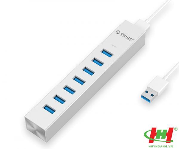 Bộ chia USB HUB 7 cổng USB 3.0 Type C ORICO ASH7-U3