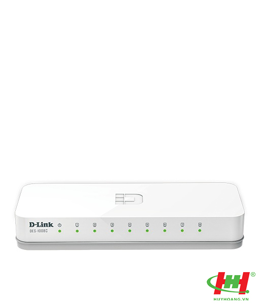 Bộ chia mạng Fast Ethernet 8 cổng D-link DES-1008C (thay 1008A)