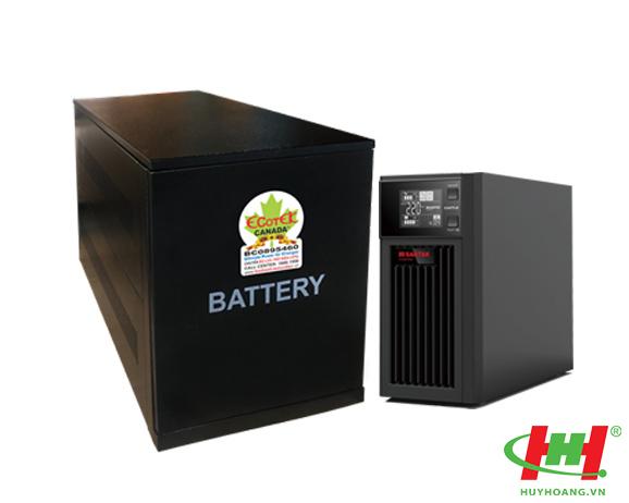 Bộ lưu điện SanTak True Online C1KS-LCD ắc quy rời