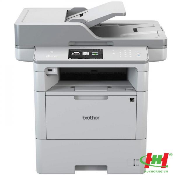 Máy in laser đa năng Brother MFC–L6900DW (in qua mạng,  scan,  copy,  fax,  wifi)