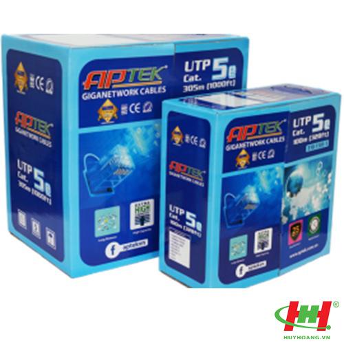 Cáp mạng APTEK CAT.5e UTP 305m (530-1101-1)
