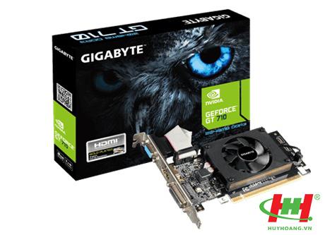 Card màn hình Gigabyte GV-N710D3-2GL (DVI-D*1,  HDMI*1,  D-Sub*1)