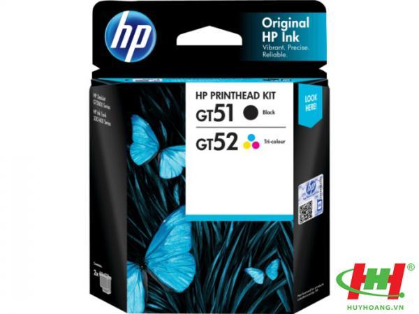 Đầu phun máy in HP DeskJet GT5810 (Printhead GT51/ 52 Inktank 3JB06A)