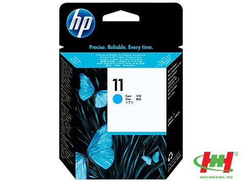 Đầu phun máy in HP - PrintHead C4811A (HP 11 Cyan) xanh