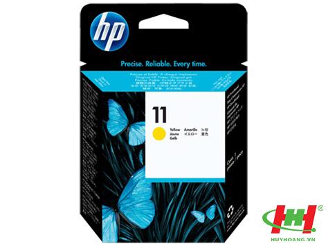 Đầu phun máy in HP - PrintHead C4813A (HP 11 Yellow)vàng