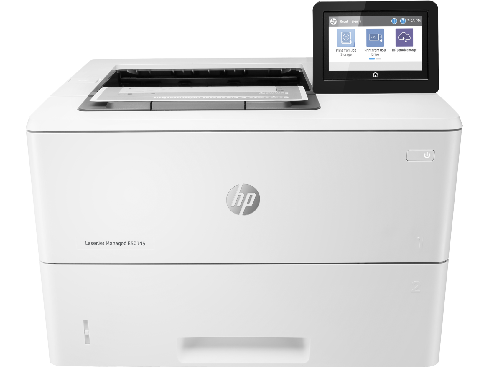 Máy in HP LaserJet Managed E50145DN Print,  Scan,  Copy,  Fax,  Duplex,  Network,  Wifi,  Email