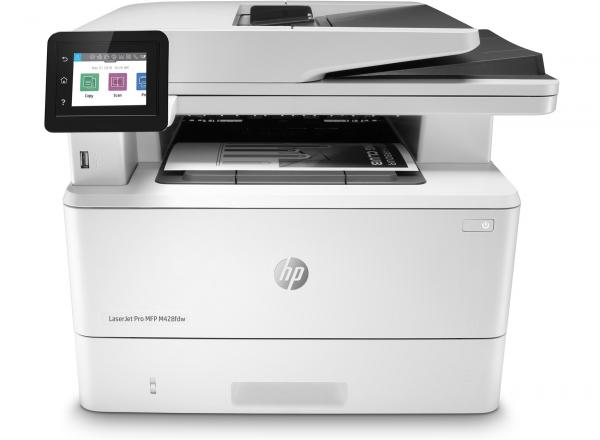 Máy in HP LaserJet Pro MFP M428Fdw (W1A30A) in 2 mặt,  scan,  copy,  fax,  wifi