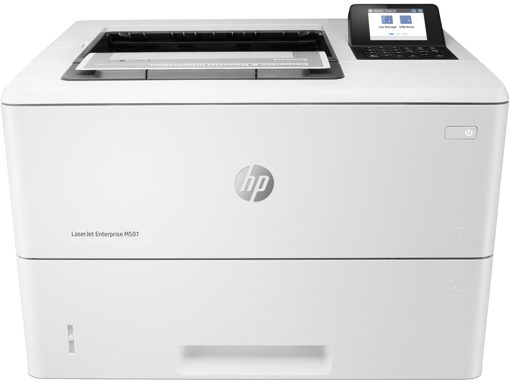 Máy in HP LaserJet Enterprise M507dn (1PV87A) Print,  Network,  Duplex