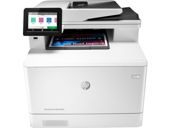 Máy in HP Color LaserJet Pro MFP M479fdn (W1A79A) Print,  Scan,  Copy,  Fax,  Duplex,  Network