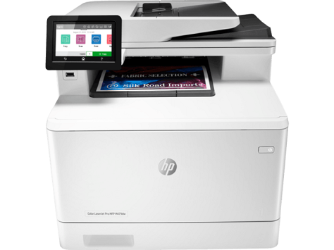 Máy in HP Color LaserJet Pro MFP M479fdw (W1A80A) Print,  Scan,  Copy,  Fax,  Duplex,  Network,  Wifi