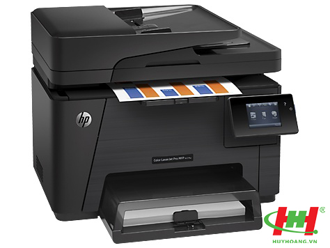 Máy in HP Color LaserJet Pro MFP M177fw cũ Printer CZ165A (in wifi,  scan,  copy,  Fax)