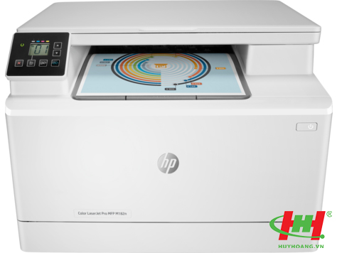 Máy in HP Color LaserJet Pro MFP M182n (7KW54A) Printer,  Scan,  Copy,  Network