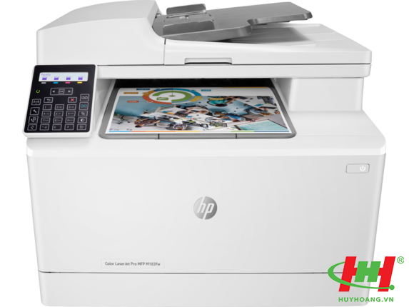 Máy in HP Color LaserJet Pro MFP M183fw (7KW56A) Printer,  Scan,  Copy,  Fax,  Wifi