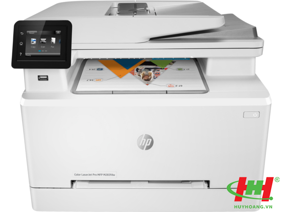 Máy in HP Color LaserJet Pro MFP M283fdw (7KW75A) Printer,  Scan,  Copy,  Fax,  Duplex,  Netwwork,  Wifi
