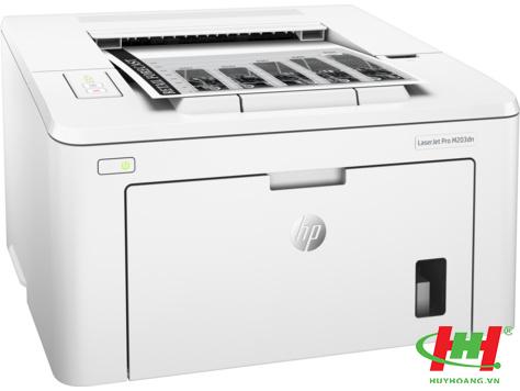 Máy in HP LaserJet Pro M203DN (in 2 mặt,  in qua mạng)