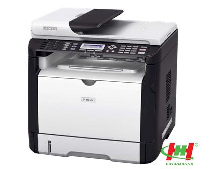 Máy in laser đa năng Ricoh Aficio SP310SFN (in,  scan,  copy,  fax)
