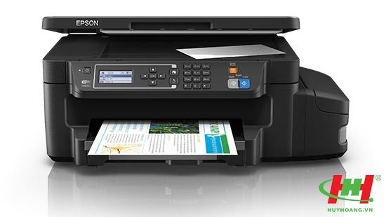 Máy in liên tục Epson L605 (In 2 mặt,  Scan,  Copy,  Wifi)