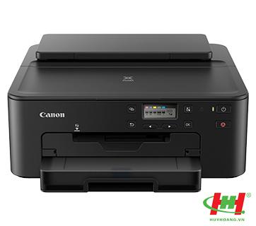 Máy in màu Canon Pixma TS707 (In 2 mặt tự động,  Wifi,  Network)