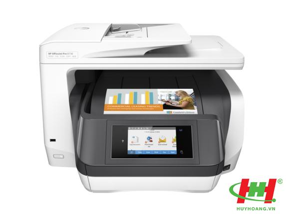 Máy in màu HP Officejet Pro 8730 eAIO (in 2 mặt A4,  scan,  copy,  fax,  Wifi)