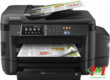 Máy in phun màu Epson L1455 khổ A3,  In,  Scan,  Copy,  Wifi,  Fax với ADF