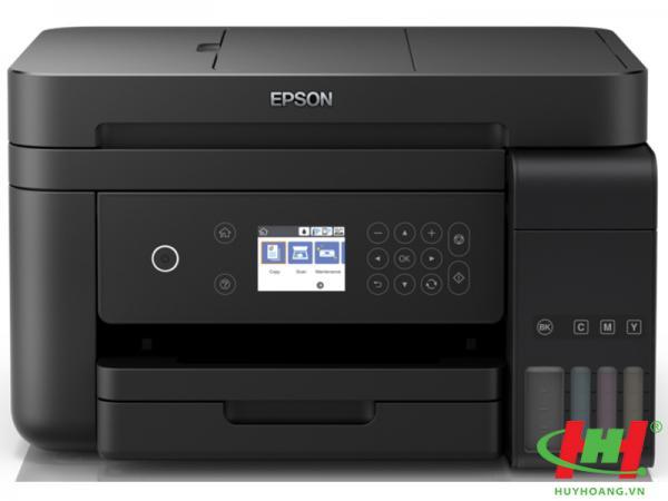 Máy in phun màu Epson L6170 (In,  scan,  Copy,  Wifi,  Duplex) thay L605