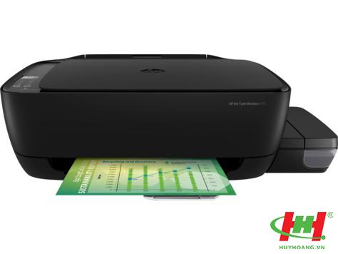 Máy in phun màu liên tục HP Ink Tank 415 All-in-One (Z4B53A) in wifi,  scan,  copy