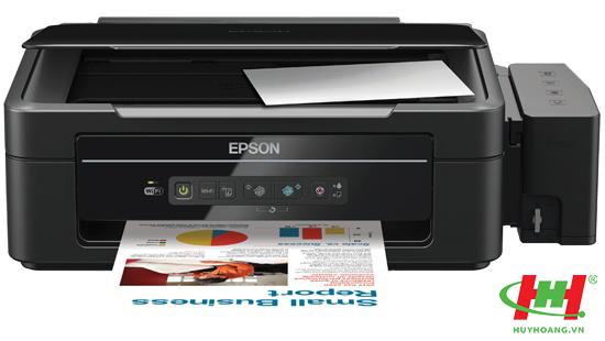 Máy in phun màu liên tục đa năng Epson L355 (In wifi,  Scan,  Copy)
