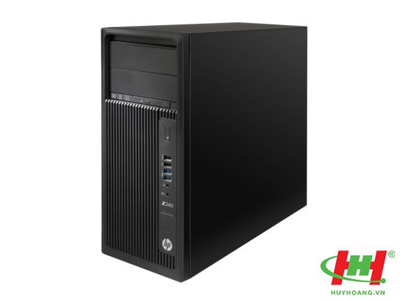 Máy tính để bàn HP Z240 Tower Workstation (E3-1245v5/ 8g/ 1tb/ vga2g)