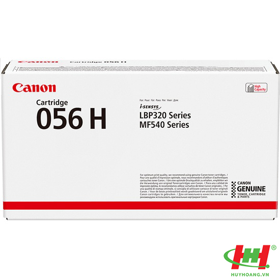 Mực Canon Cartridge 056H Black High Capacity Toner Cartridge (Original) 21K