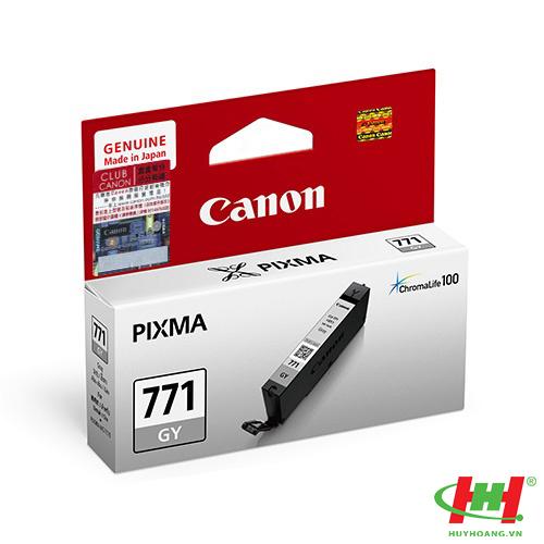 Mực in Canon CLI-771GY xám