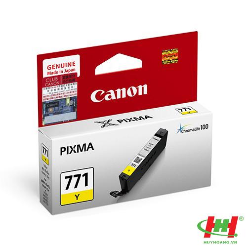 Mực in Canon CLI-771Y vàng
