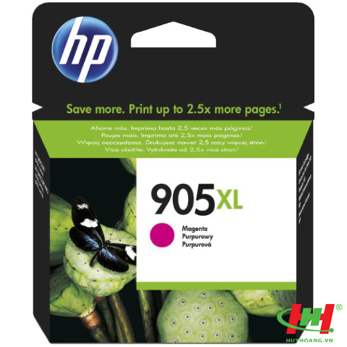 Mực in HP 905XL High Yield Magenta Original Ink Cartridge (T6M09AA)