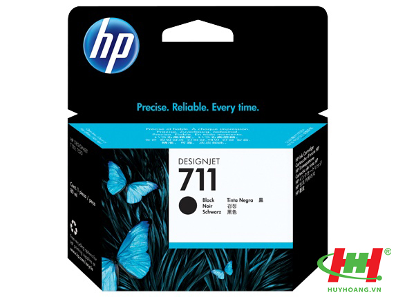 Mực in HP CZ133A - 3WX01A  (HP 711 Black) 80ml