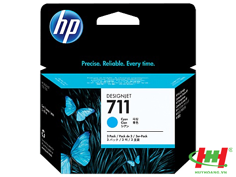Mực in HP CZ134A  (HP 711 Cyan)