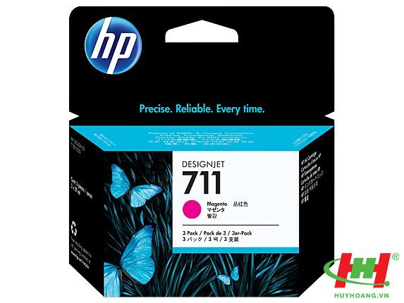 Mực in HP CZ135A (HP 711 Magenta)