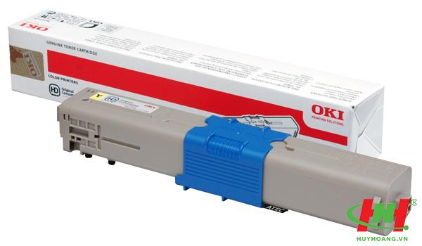 Mực in laser màu Toner Oki C310,  C330,  C510,  C530,  C331,  C511,  C531,  MC361,  MC561,  MC362,  MC562 Yellow