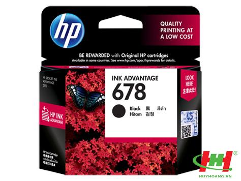 Mực in phun HP CZ107A (HP 678) Black