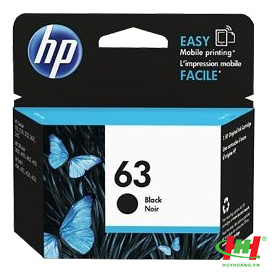 Mực in phun HP F6U62AA (HP 63) Black