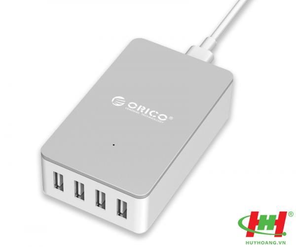 Sạc điện thoại USB 4 cổng 2.4A ORICO CSE-4U-WH