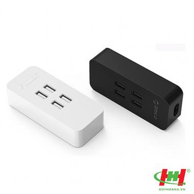 Sạc điện thoại USB 4 cổng 2.4A ORICO DCV-4U