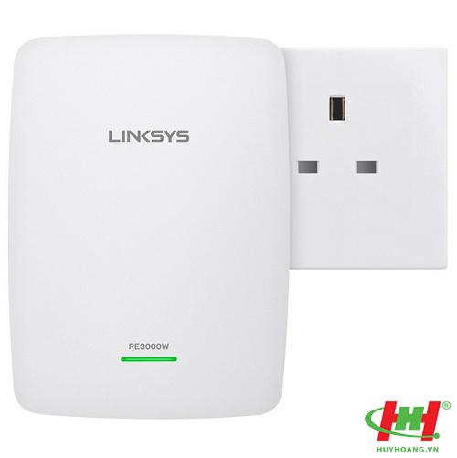 Thiết bị tiếp sóng Wifi Linksys RE3000W N300 Wireless Range Extender.