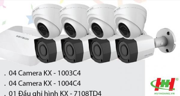 Trọn bộ camera KBVISION