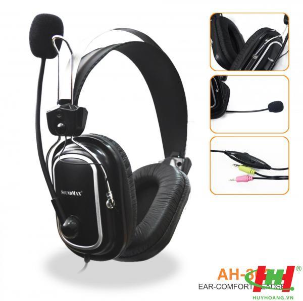 Tai nghe dùng cho PC và Laptop SoundMax AH-302