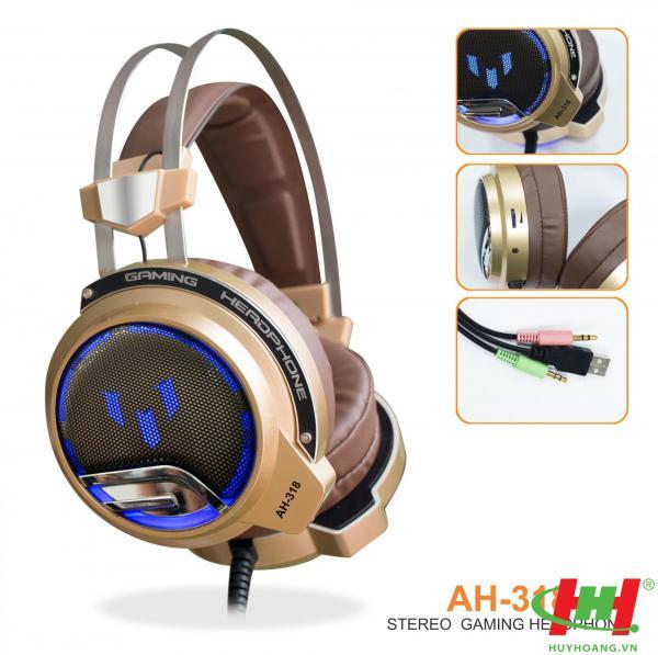 Tai nghe dùng cho PC và Laptop SoundMax AH-318 (Gameming)