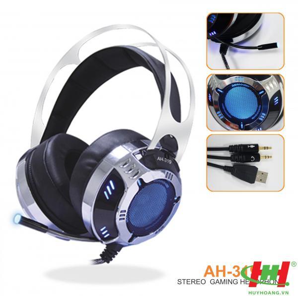 Tai nghe dùng cho PC và Laptop SoundMax AH-319 (Gameming)