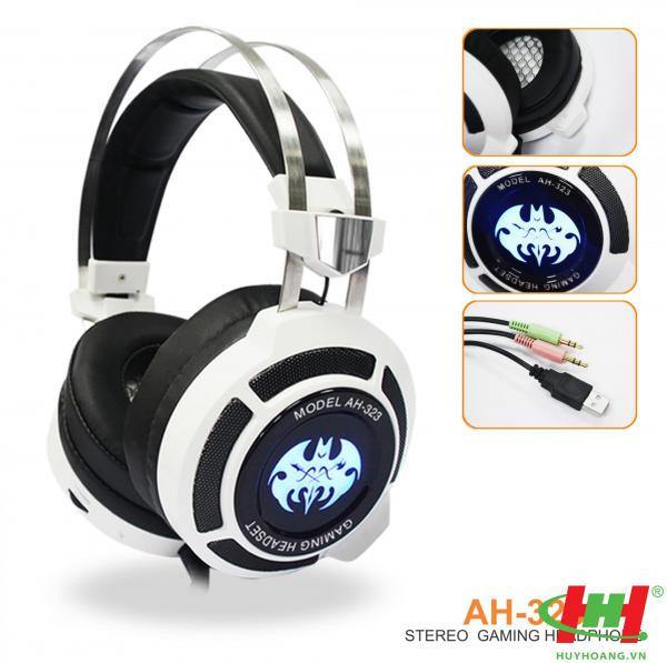 Tai nghe dùng cho PC và Laptop SoundMax AH-323 (Gameming)
