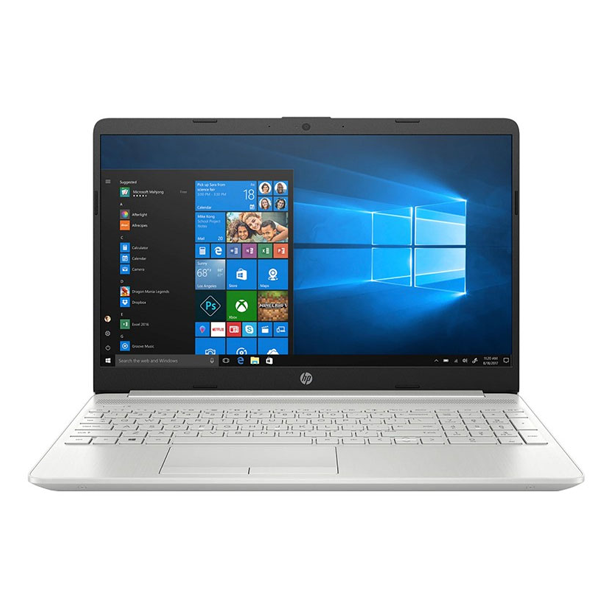 Máy tính xách tay HP 15s-fq2027TU,  2Q5Y3PA Core i5-1135G7,  8GB RAM,  512GB SSD,  Intel Graphics,  15.6HD,  Wlan ac+BT,  3cell,  Win 10 Home 64,  Silver,  1Y WTY