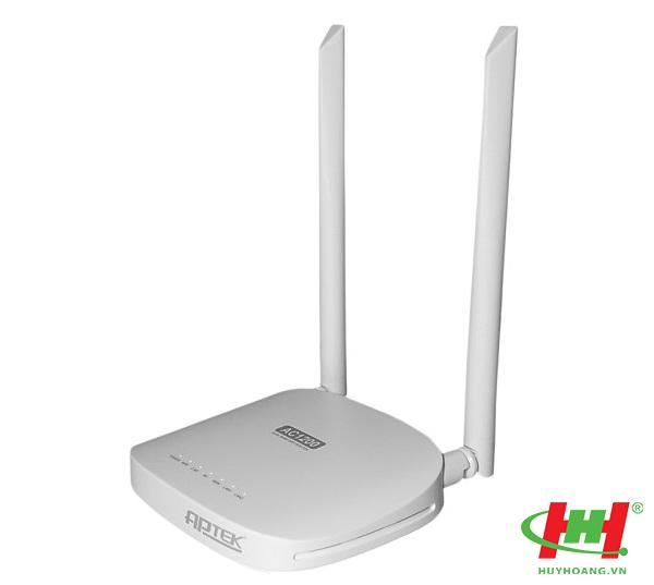 Wifi 2 anten APTEK A122e - Small Office Dual Band AC1200 Wireless Router